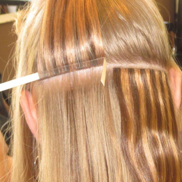 Hair Extension Tape On Delhi Hair Studio